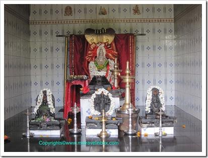 Pratyangira Temple Inside